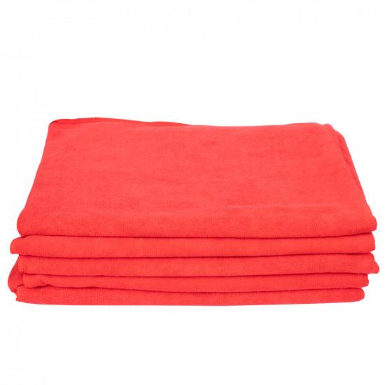 Microfiber Car Wash Weft Elastic Towel  (Big)- 300 GSM