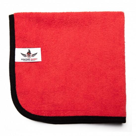 Microfiber Terry Car Towel Red – 360 GSM (40*40 cms)
